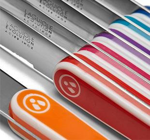 coffrets de couteaux de table laguiole evolution tb. Black Bedroom Furniture Sets. Home Design Ideas