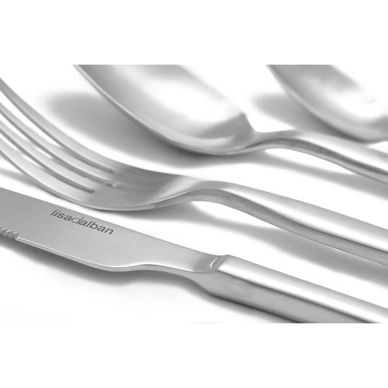 M nag re design en inox curving 24 couverts de table - Menagere de table ...